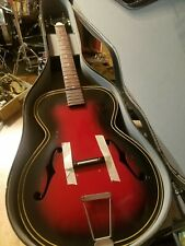 Vintage Kay Truetone Archtop Acoustic Guitar Project 60's