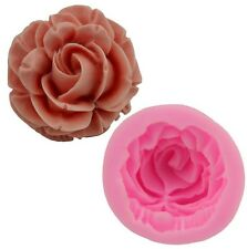 Rose Carnation Silicone Mould Cake Decoration Flower Chocolate Icing Wedding