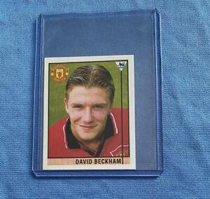 1996 Merlin's Sticker David Beckham Rookie RC #40 Manchester United England