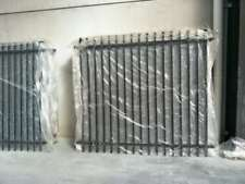 2100mm Black Heavy Duty Security Fencing Fence Panels