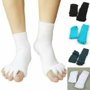 Alignment Socks Massage Open Toe Separator Sports Health Care Five Yoga Gym Foot