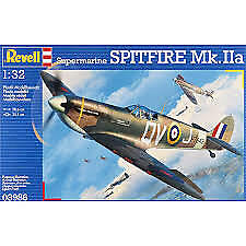 Revell 03986 Supermarine Spitfire Mk.IIa Aircraft Plastic Model Kit 1:32