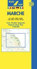 MARCHE CARTINA REGIONALE STRADALE 1:300.000 [MAPPA/CARTA/POSTER] BELLETTI SRL