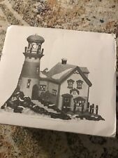 Dept. 56 Pigeonhead Lighthouse New England Village 1994 Heritage Village Mib