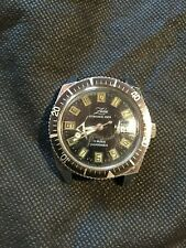 "ancienne montre de plongee ""ZEDE"" 100m"