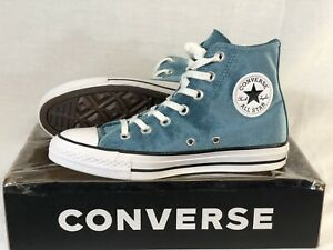 NEW WITHOUT BOX WOMEN'S CONVERSE ALL STAR CTAS HI TEAL/WHITE (557928F) SIZE 7