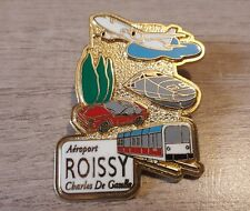 PIN'S BADGE COLLECTION TGV - TGV AEROPORT ROISSY CHARLES DE GAULLE - BALLARD