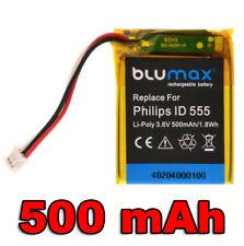 Batterie pour Philips ID 555 5551b 5552b 5-2762 5-2770 etc. | 40204 | 3,6 V/500 mah