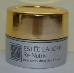 ESTEE LAUDER Re-Nutriv Intensive Lifting Eye Creme Net Wt .22 OZ ~ Travel Size