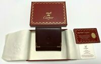 Auth Cartier coin case mast With box and Guarantee Bordeaux leather  Unused