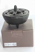 Cast Iron Traditional Lotus Shape Joss Sticks Incense Stick Holder Buddhist Zen