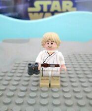 LEGO STAR WARS LUKE SKYWALKER Minifigure 0432 w BINOCULARS 2012 Landspeeder Solo