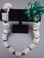 Hawaiian Recycled Paper Lei Football Graduation Gift