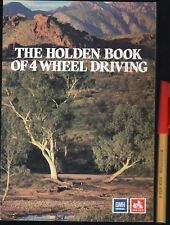 Rare! The HOLDEN Book of 4 WHEEL DRIVING As New General Motors Promo 32p Handb'k