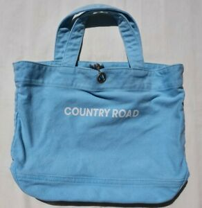 Country Road Pale Blue Heritage Tote