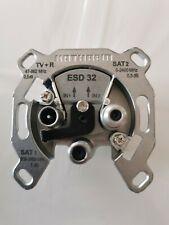 Kathrein ESD 32 Einzelanschlussdose 3fach DC-Durchlass über 2 x SAT