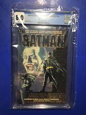 Batman Official Movie Adaptation #1 CGC 8.0 1st Michael Keaton DC Comic 1989