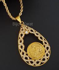 Osmanli Tugra altini Kolye Ceyrek 22 Karat GP Altin Zincir Gold Infinity Kette 1