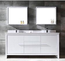 """Designer Fresca Allier 30"""" white Mirrors with Shelf. Set Of 2 Mirrors. Bnwt"""