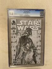 STAR WARS #4 CGC 9.6 ALEX ROSS SKETCH VARIANT COVER