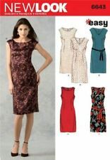 LOOK Sewing Pattern 6643 Ladies Misses Dress Size 10-22 Uncut
