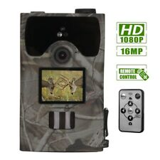 16Mp Trail Camera Waterproof Outdoor Hunting Cam Low Glow Night Vision Security