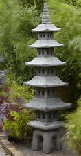 7 Tier Oriental Style Pagoda (Over 6 feet tall - British Made) Border Stoneware