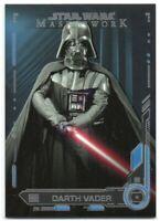 2019 Star Wars Masterwork Blue 9 Darth Vader