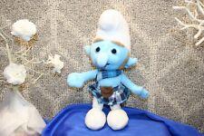 "The Smurfs Gutsy Smurf Character in Kilt 10"" Plush Stuffed toy Animal childrens"
