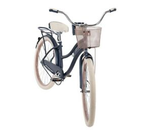 Huffy Nel Lusso 26 inch Women's Beach Cruiser Bike - Denim Blue