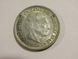 Uruguay 1942-SO 1 Peso Silver Coin