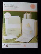 Martha Stewart Printable Invitation Suite Floral Cake