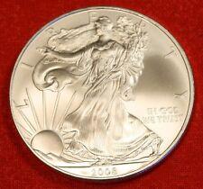 2008 AMERICAN SILVER EAGLE DOLLAR 1 oz .999% BU GREAT COLLECTOR COIN GIFT