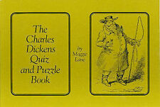 Charles Dickens Quiz and Puzzle Book, Lane, Maggie, Excellent Book