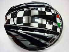 CASCO AGV DEMON V-TOP BLACK SILVER GUNMETAL XL MOTORBIKE HELMET AGV CASQUE