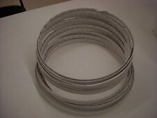 """MEAT AND BONE CUTTING BUTCHER'S BAND SAW BLADES 126"""" BUNDLE OF 4 BLADES"""