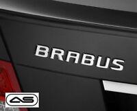 Brabus Rear Badge Emblem Decal Sticker Boot Trunk Tailgate Logo Mercedes Car 31r