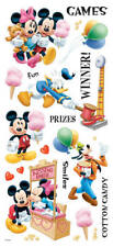Disney AMUSEMENT PARK GAMES Scrapbook Stickers