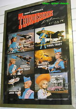 THUNDERBIRDS Full Colour Fine Art Print (1998) Signed Gerry Anderson Limited Ed.