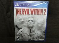 PlayStation 4 PS4 THE EVIL WITHIN 2 Brand New Sealed