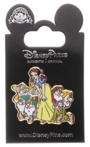 2012 Disney Jerry Leigh Snow White & Dwarfs Group Pin With Packing N3