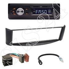 Caliber RMD022 Radio orange + Smart ForTwo(A/C450) Blende schwarz + ISO Adapter