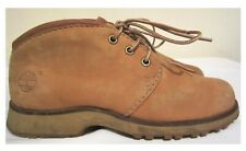 TIMBERLAND TAN NUBUCK VINTAGE LACE UP ANKLE BOOTS  SIZE 4 UK  37 EU
