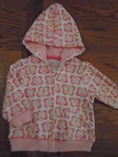 BNWT baby girl Little Me hooded top, with butterfly. 6 months. 1/1