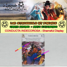 LEYENDA DE LOS CINCO ANILLOS LCG - Conducta indecorosa (Shameful display) PROMO