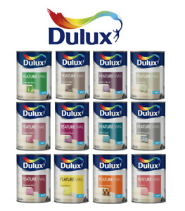 Dulux Retail Matt Contemporary Feature Wall Paint - All 13 Colours 1.25L