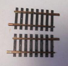 "Fleischmann HO Brass  Double Gap Track 2-1/8"" (2 Pieces)"