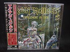 IRON MAIDEN Somewhere In Time JAPAN CD 1998 CD-Extra Samson Urchin Psycho Motel