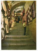 Jerusalem: Old City Street Scene, Steps. Israel, Palestine Rare Picture Postcard