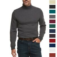 Croft & Barrow Men's Mock Turtle Neck Top Sweater T-Shirt Shirt Extra Soft